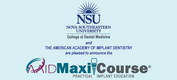 2017-18 NOVA Southeastern University Implant Maxicourse